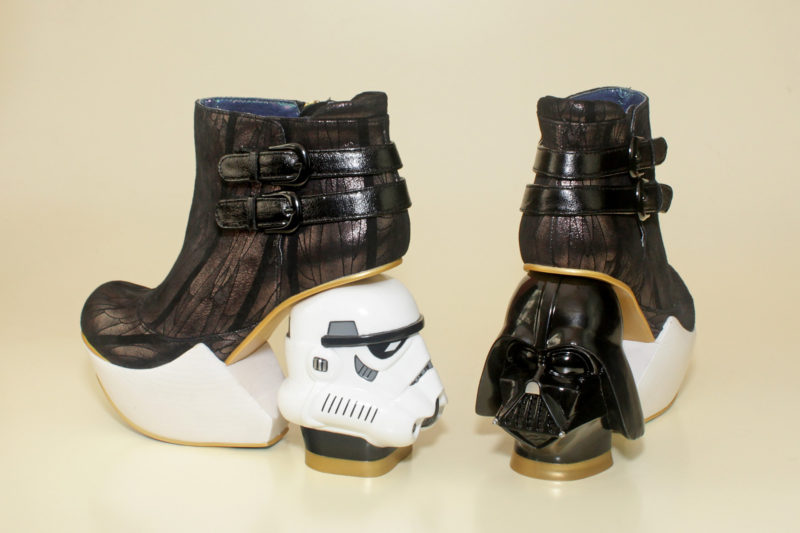 Irregular Choice Death Star boots