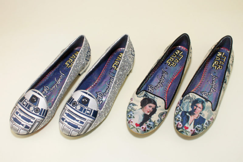 Irregular Choice 'R2-D2' and 'I Know' flats