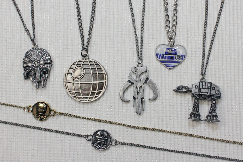 Bioworld Star Wars necklaces
