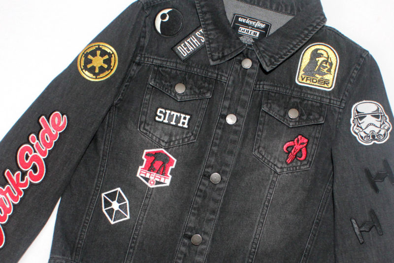 We Love Fine Dark Side patch jacket