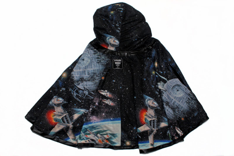 We Love Fine x Goldie Galaxy cape