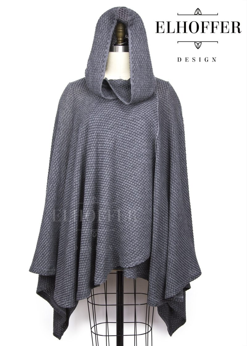 Elhoffer Design - Star Wars The Last Jedi Rey inspired Galactic Scavenger hooded cape everyday cosplay style