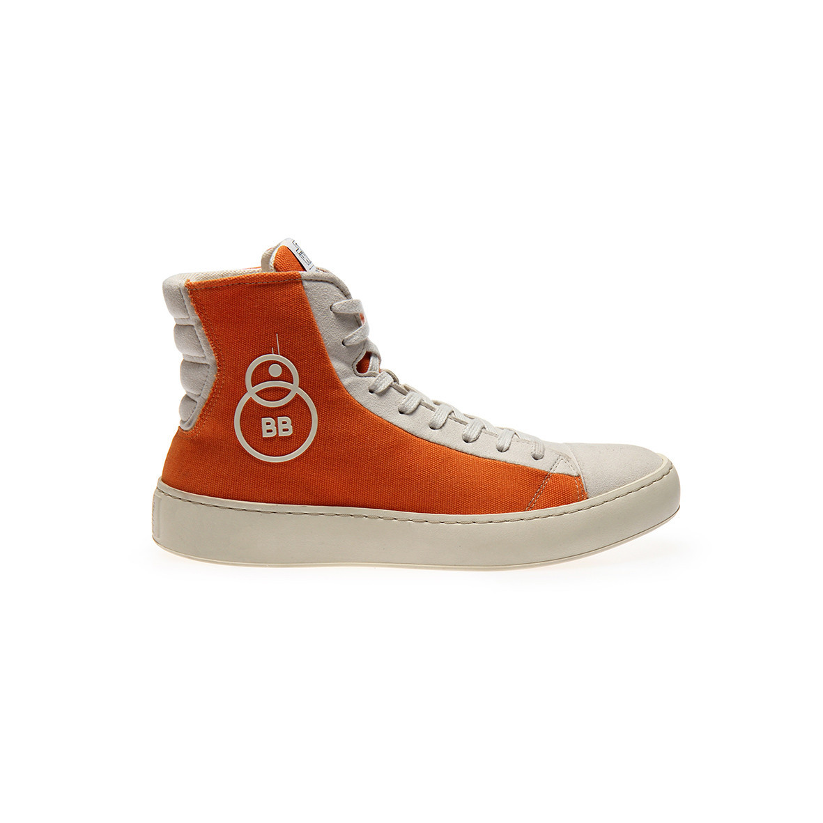 Po-Zu x Star Wars women's The Force Awakens BB-8 orange sneakers