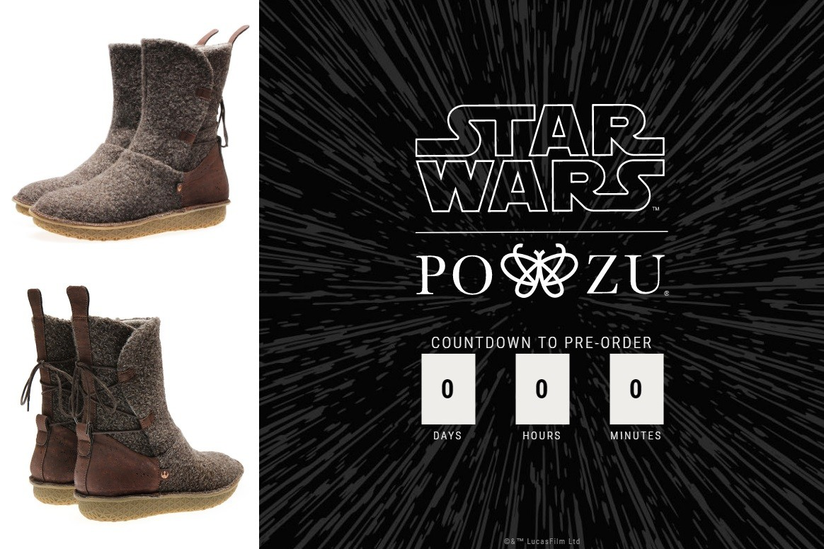 Po-Zu x Star Wars Footwear Launch!