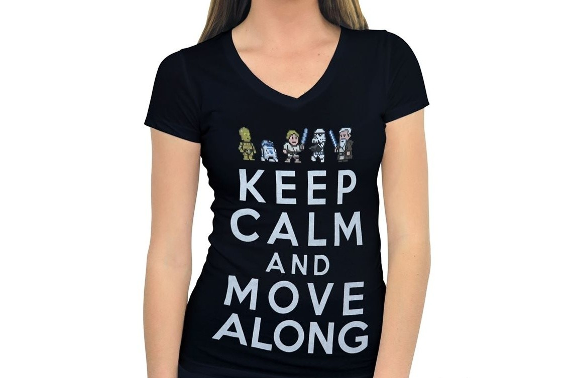 Keep Calm and Move Along T-shirt