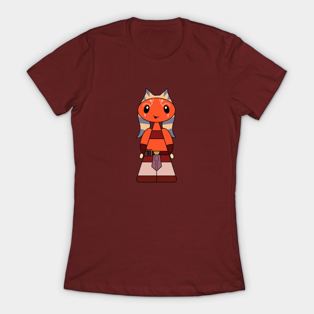 Women's Star Wars female character inspired t-shirts by Jawa Trading Depot