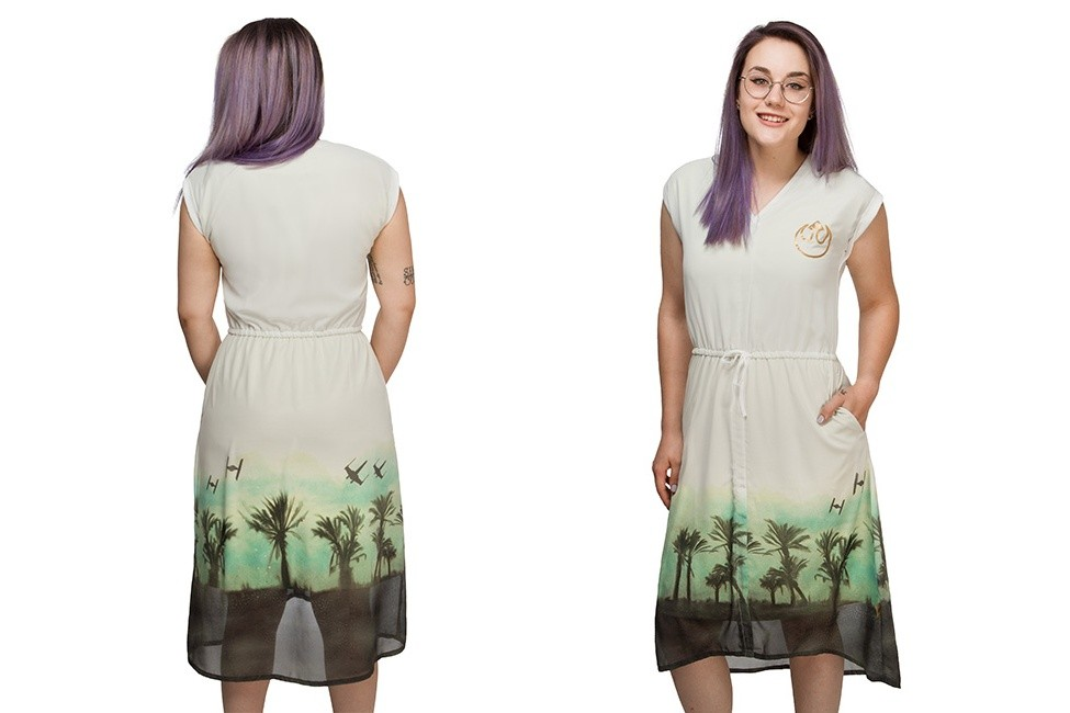 Rogue One Rebel Desert dress at ThinkGeek
