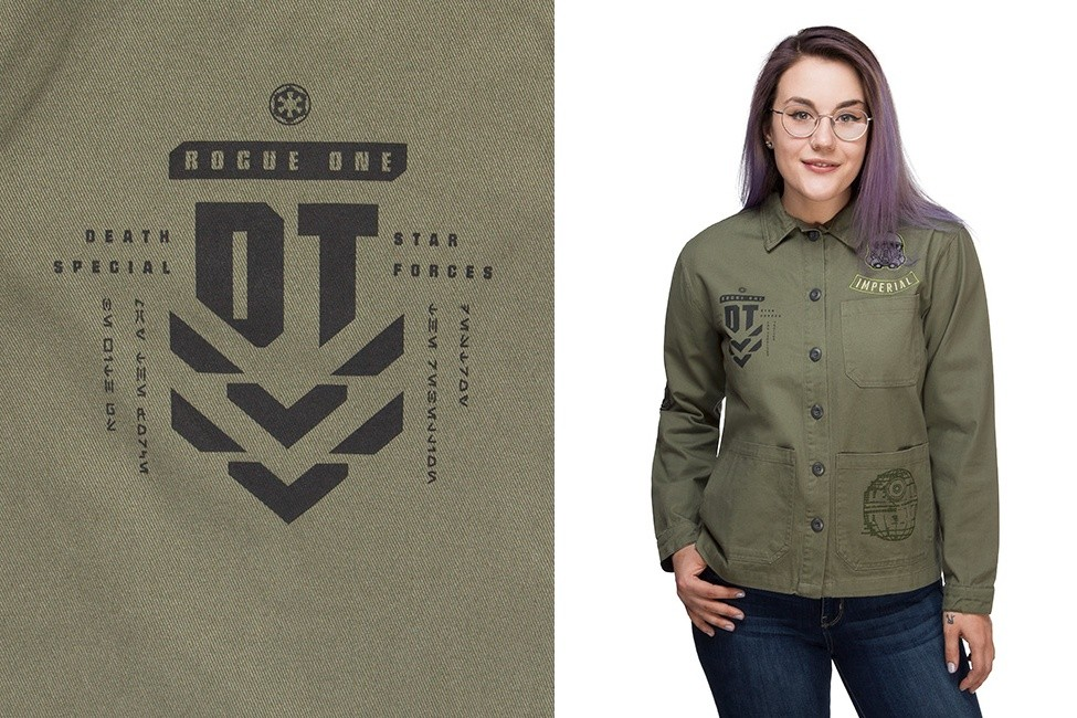 Rogue One Twill Jacket at ThinkGeek