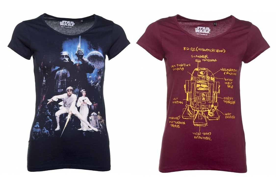 Women's Star Wars Tees at TruffleShuffle