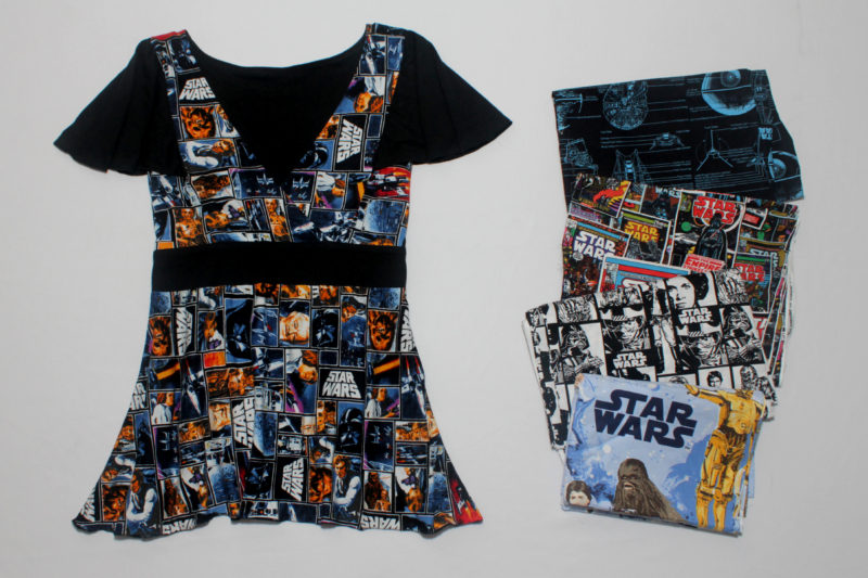 Licensed Star Wars fabrics