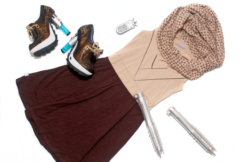 We Love Fine dress and Irregular Choice shoes