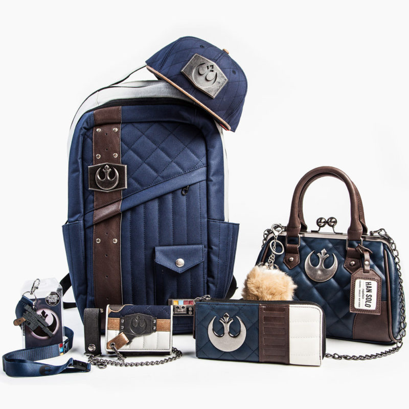 Bioworld x Star Wars Hoth Han Solo themed bags and accessories at San Diego Comic Con 2017