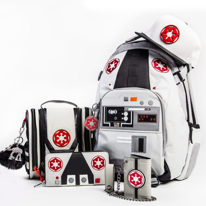 Bioworld x Star Wars Hoth AT-AT Driver themed bags and accessories at San Diego Comic Con 2017