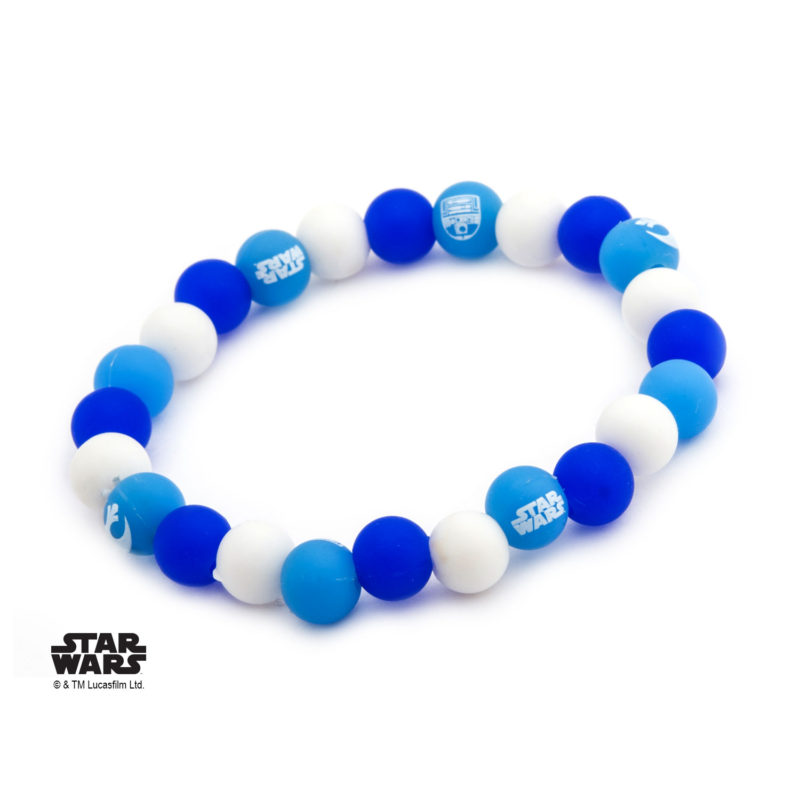 Body Vibe x Star Wars R2-D2 droid silicone bead bracelets