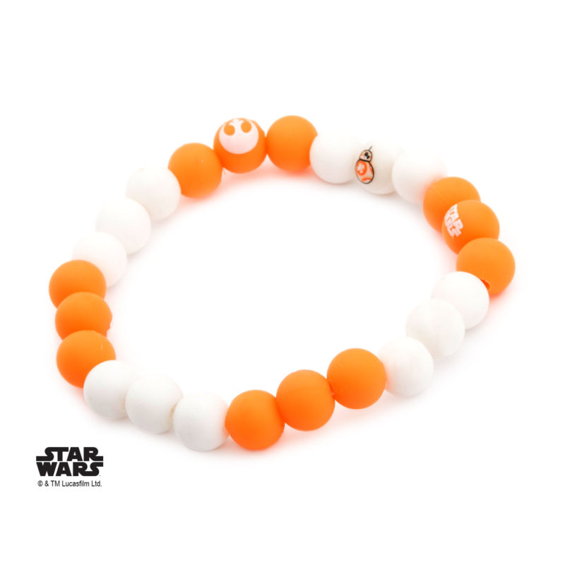 Body Vibe x Star Wars BB-8 droid silicone bead bracelets