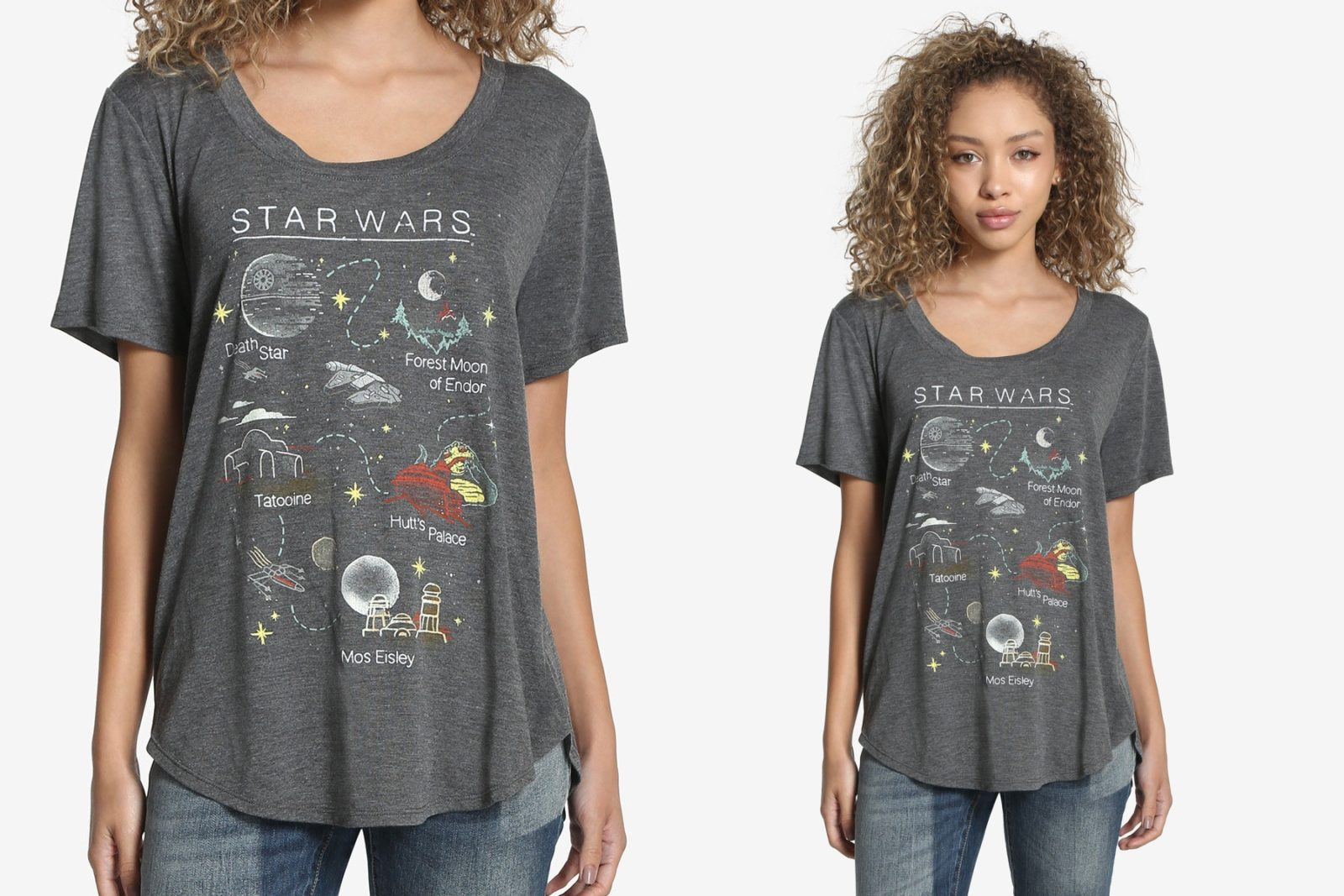 New Women's Star Wars Destinations Tee