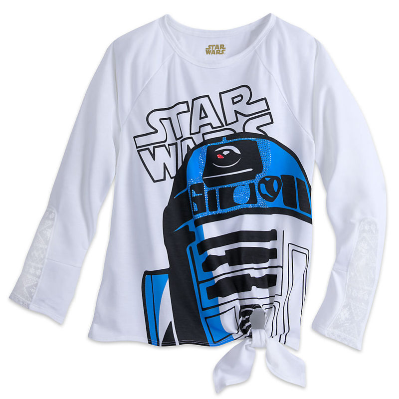 Women's Star Wars R2-D2 long sleeve t-shirt at the Disney Store