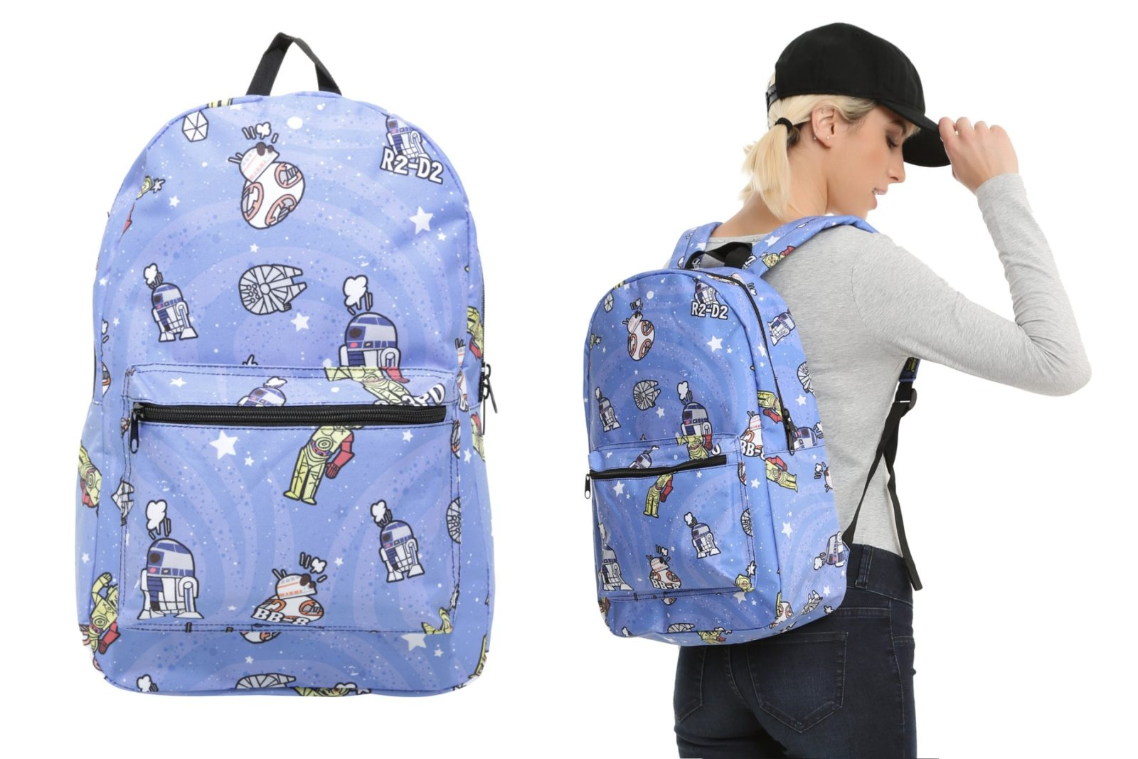 New Star Wars Droids Print Backpack