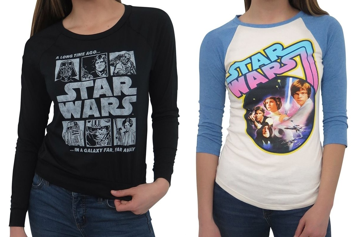New Star Wars Tees at SuperHeroStuff