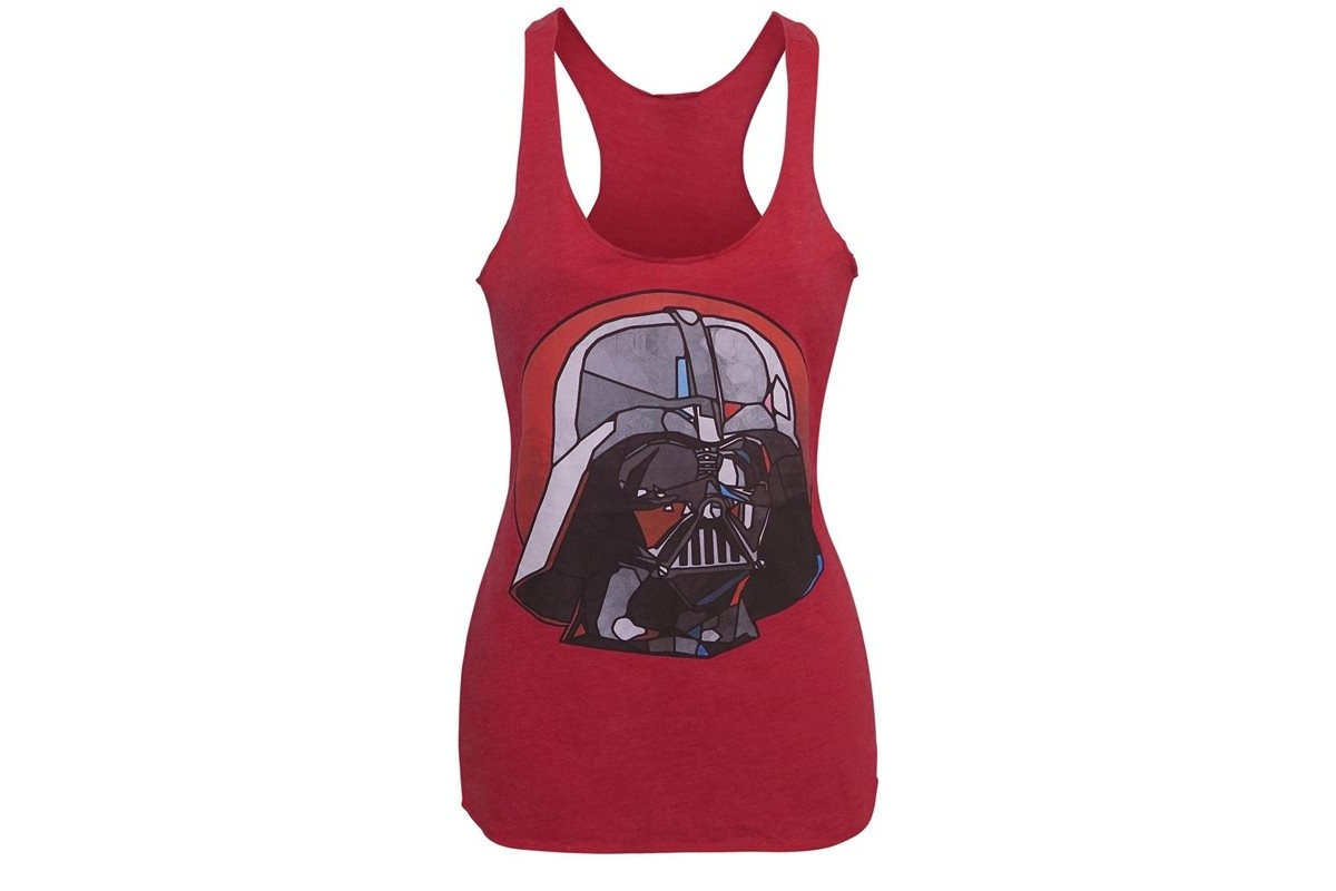 Women's Stained Glass Darth Vader Tank Top