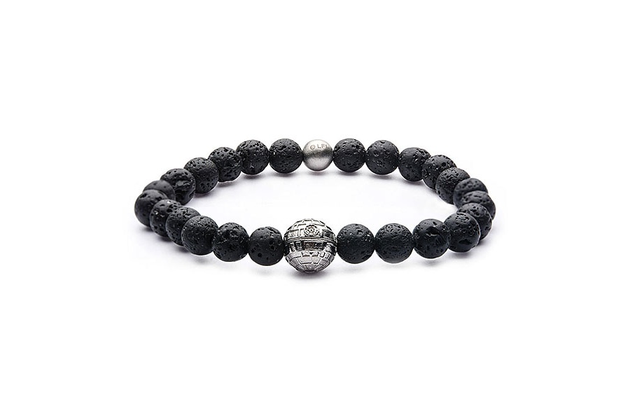 Death Star Bead Bracelet at ThinkGeek