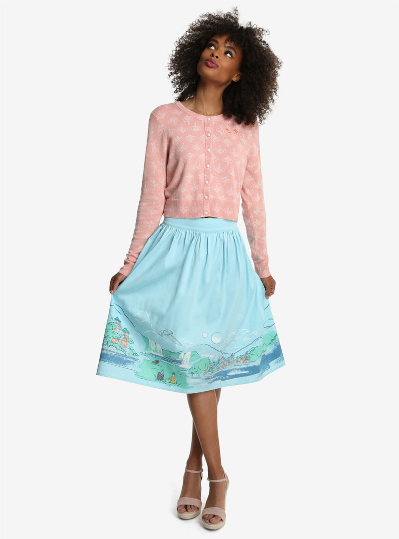 Her Universe x Star Wars Naboo cardigan and skirt at Box Lunch