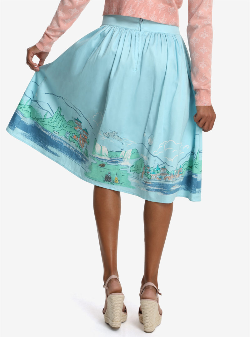 Her Universe x Star Wars Naboo skirt at Box Lunch