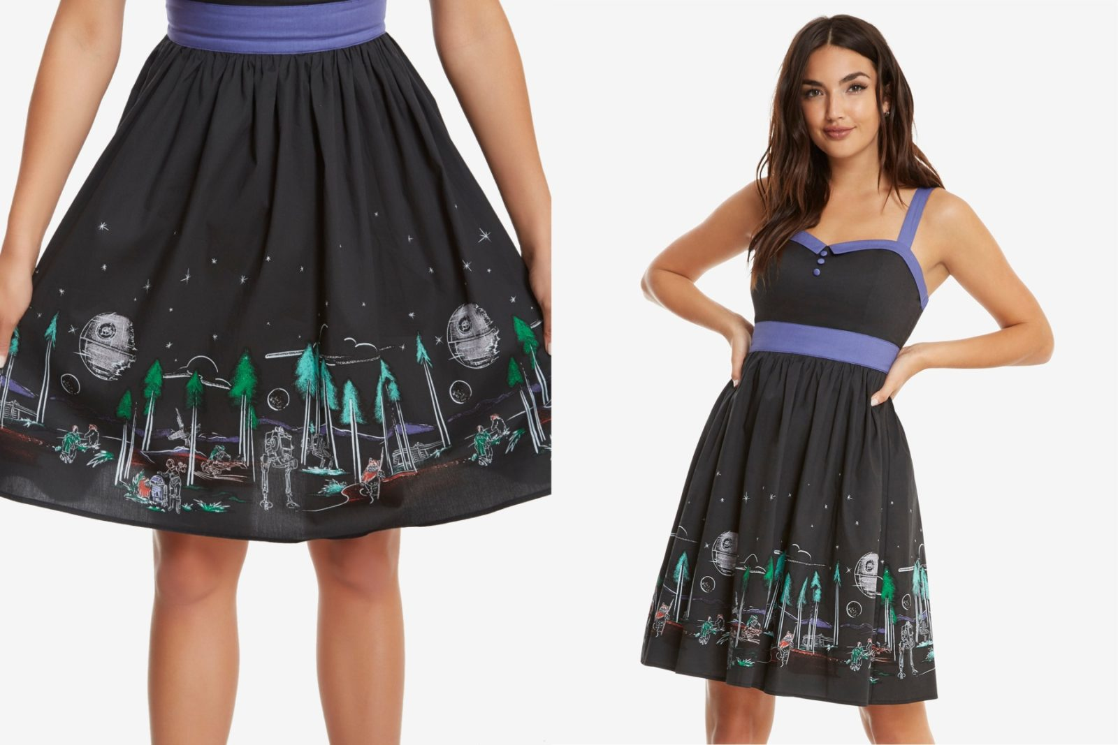 New Her Universe Endor Landscape Dress