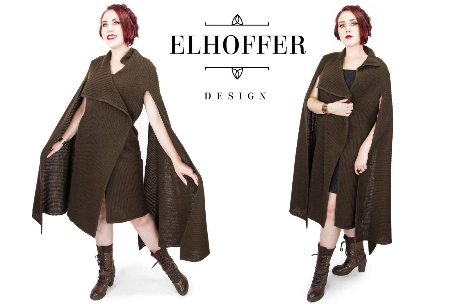 General Leia Inspired Cardigan by Elhoffer Design