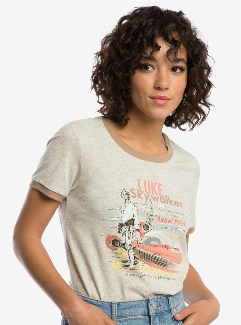 Star Wars Classic Luke Skywalker t-shirt at Her Universe