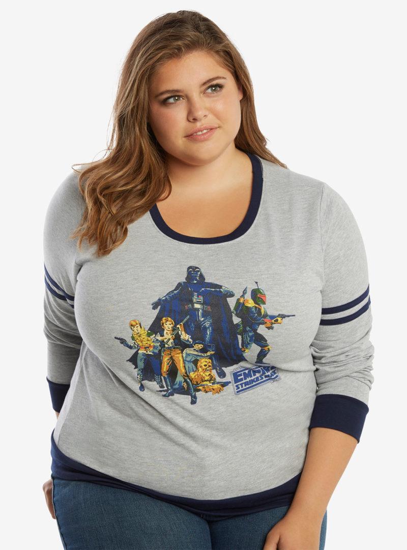 Star Wars ESB classic athletic sweatshirt at Her Universe