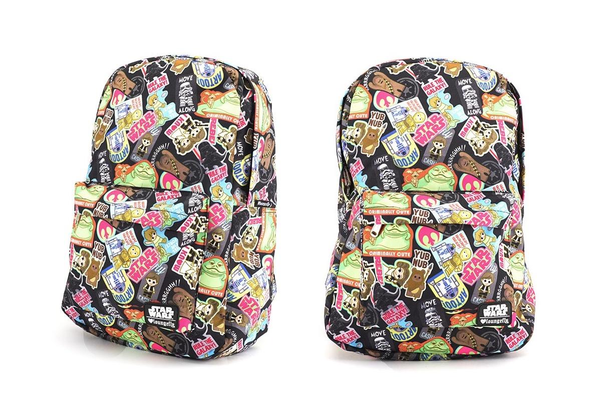 Loungefly Star Wars Kawaii Sticker Backpack