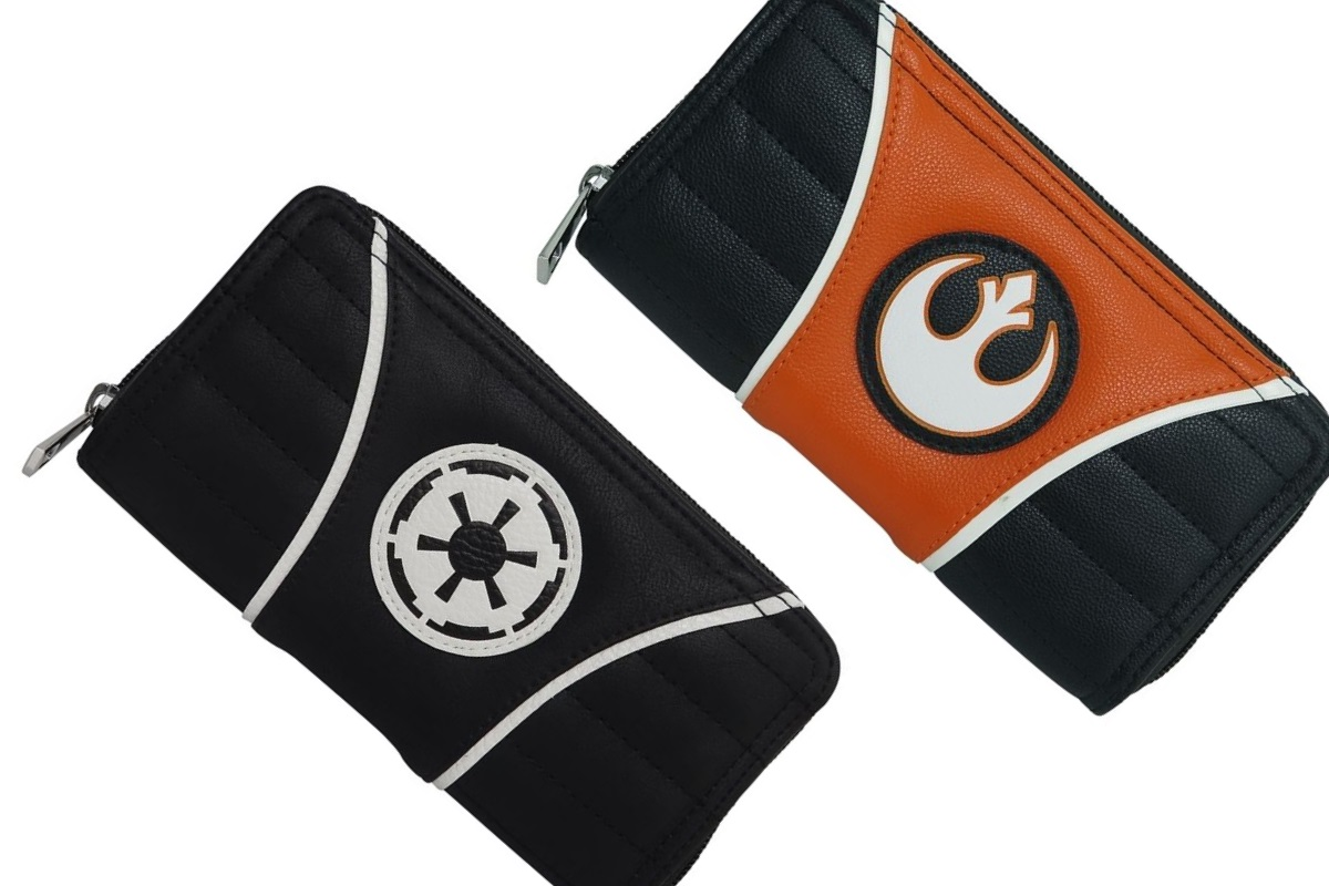 New Women's Star Wars Symbol Wallets