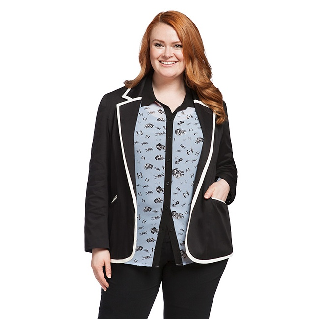 Her Universe x Star Wars ships blouse at ThinkGeek