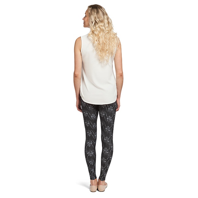Her Universe x Star Wars Faces Of Vader leggings at ThinkGeek