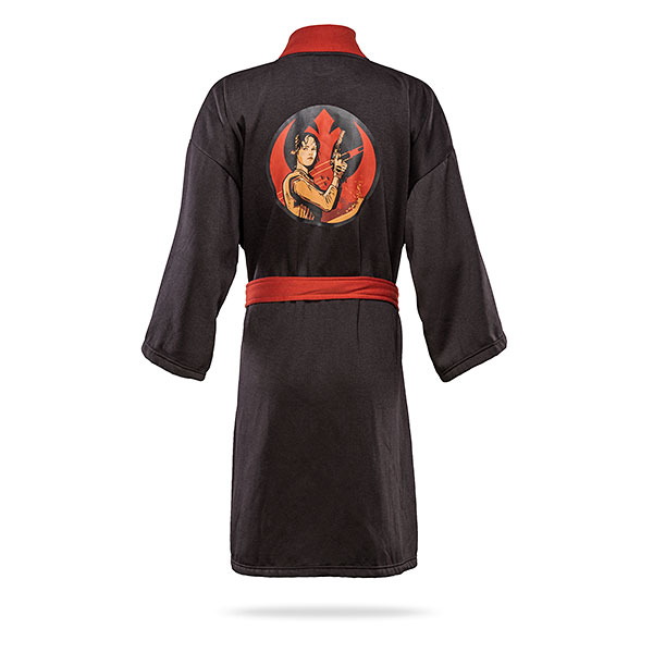 Women's Star Wars Rogue One Jyn Erso Rebel Leader jersey bath robe at ThinkGeek