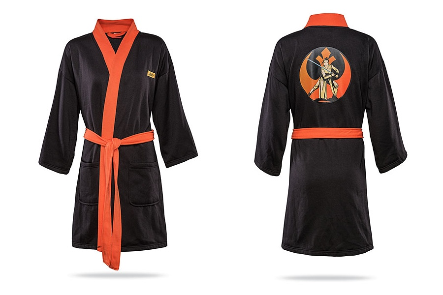 Women's Rey Jersey Robe at ThinkGeek