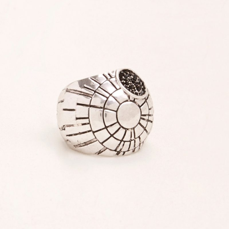 Star Wars Death Star chunky oversize ring at Torrid