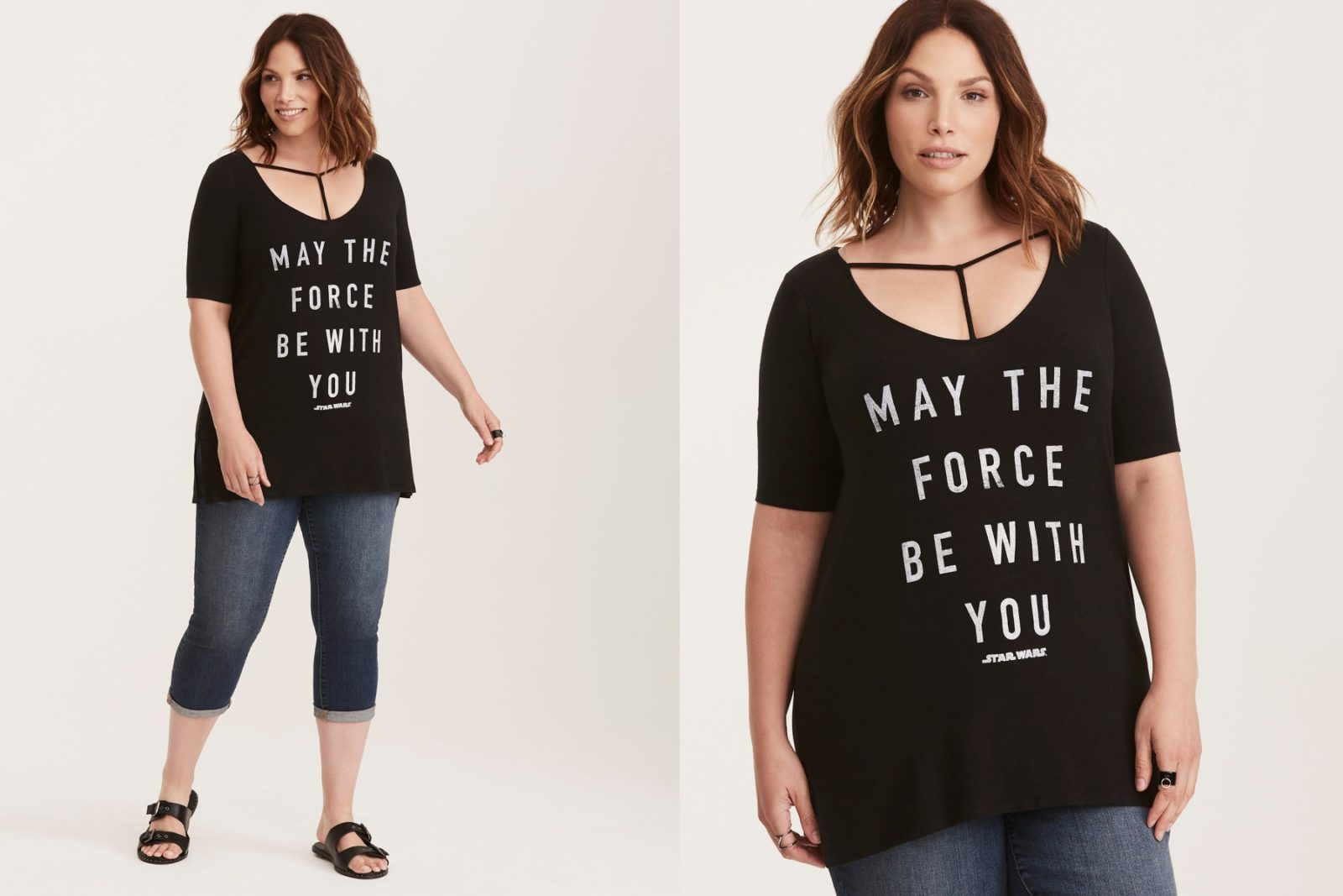 Women's Star Wars Strappy Tee at Torrid