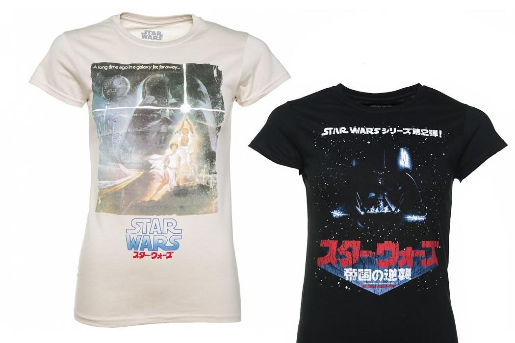 Women's Star Wars Japanese Poster Tees
