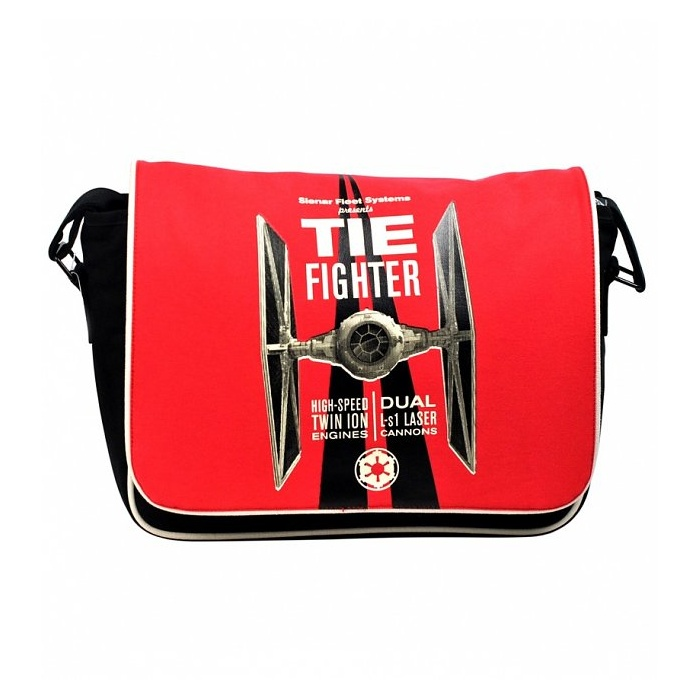 Star Wars TIE Fighter messenger bag at TruffleShuffle