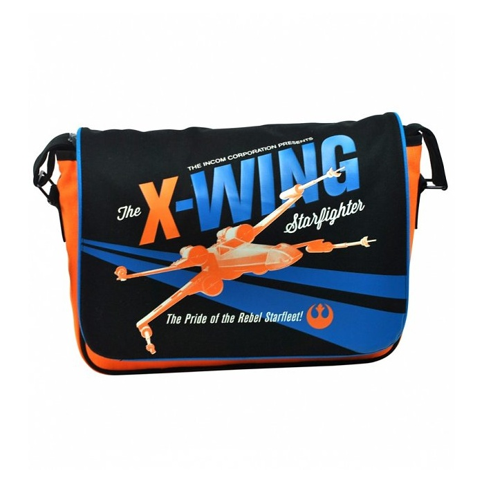 Star Wars X-Wing Fighter messenger bag at TruffleShuffle