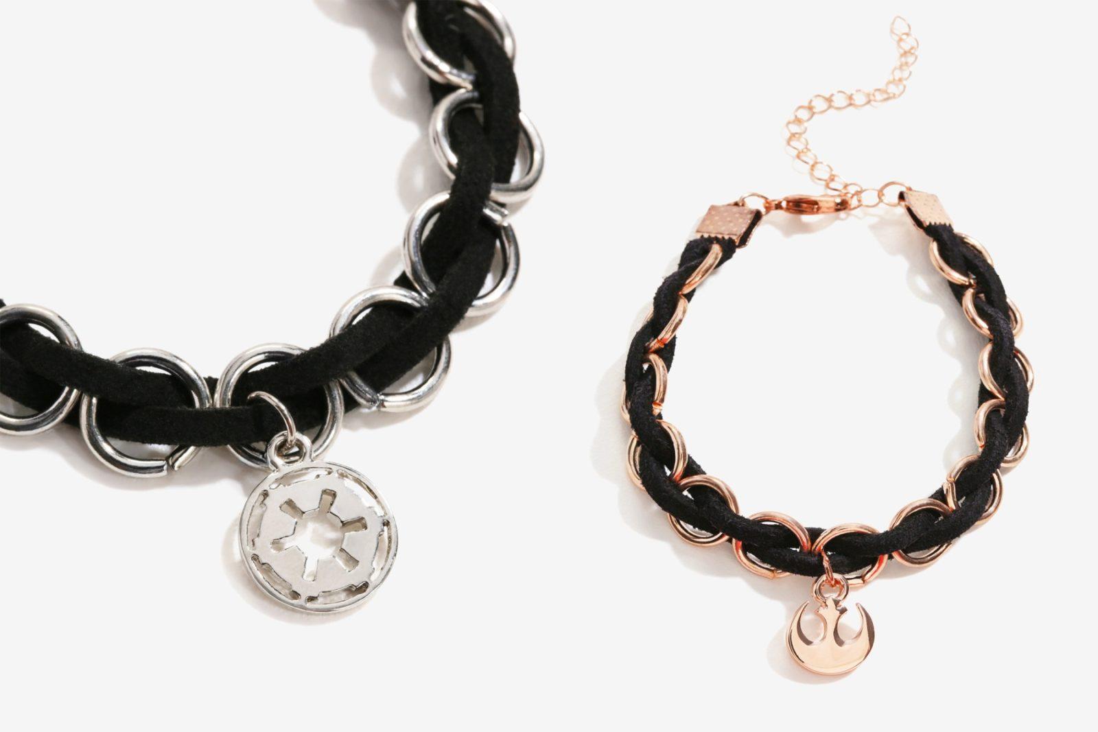 New Star Wars Symbol Braided Bracelets