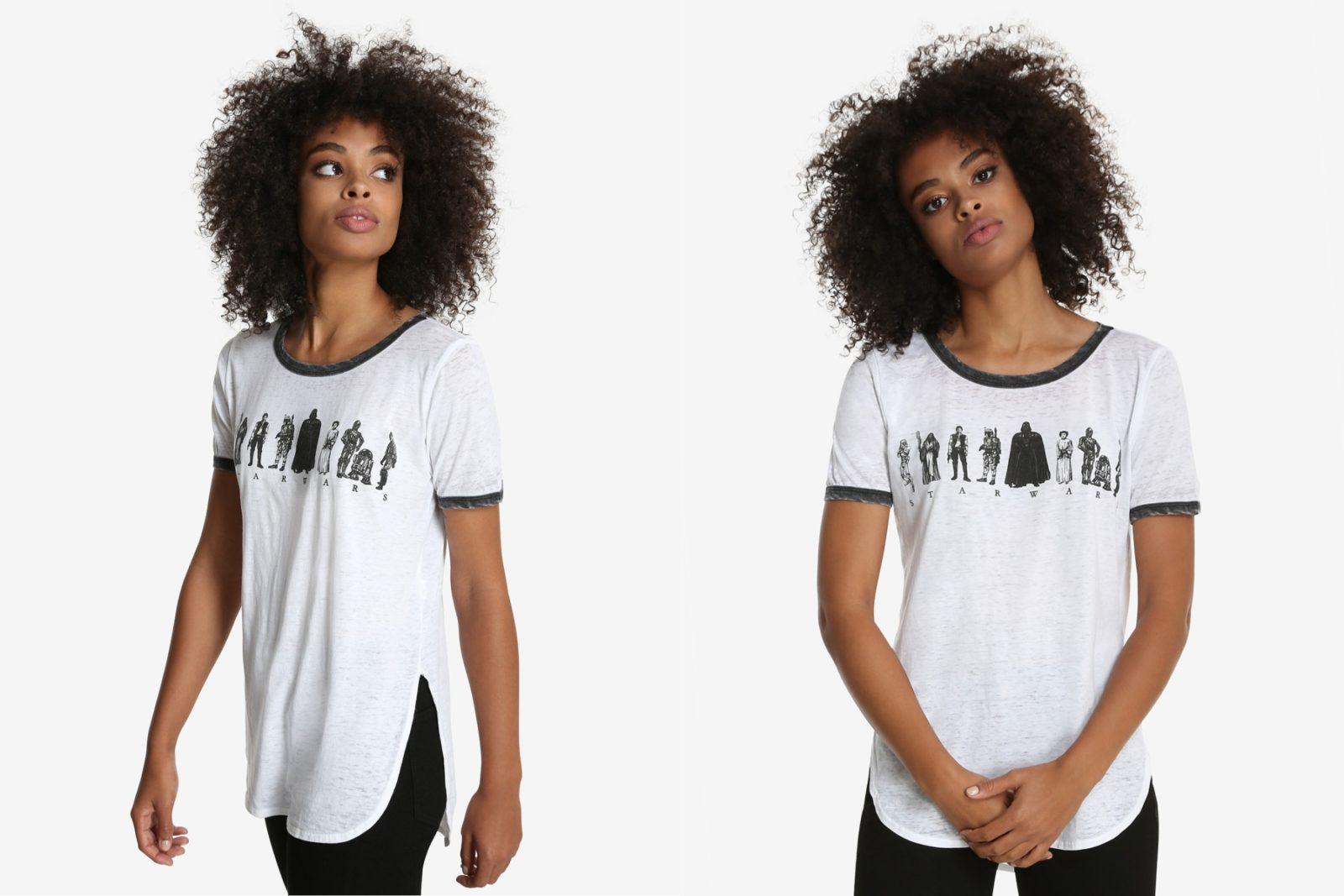 Women's Star Wars Character Ringer T-Shirt