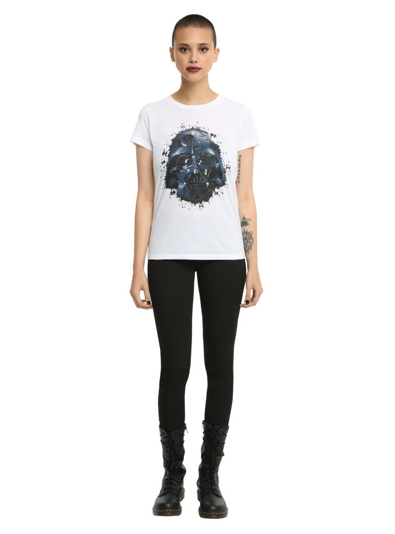 Women's Star Wars Darth Vader splatter t-shirt at Hot Topic