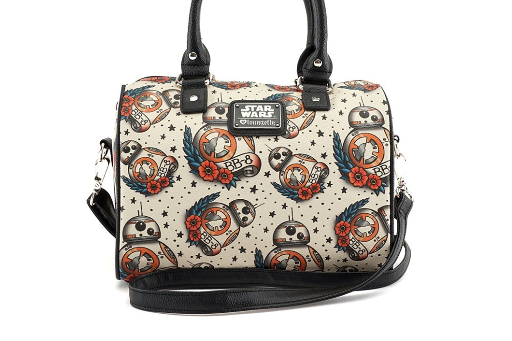 New Loungefly BB-8 Tattoo Print Handbag