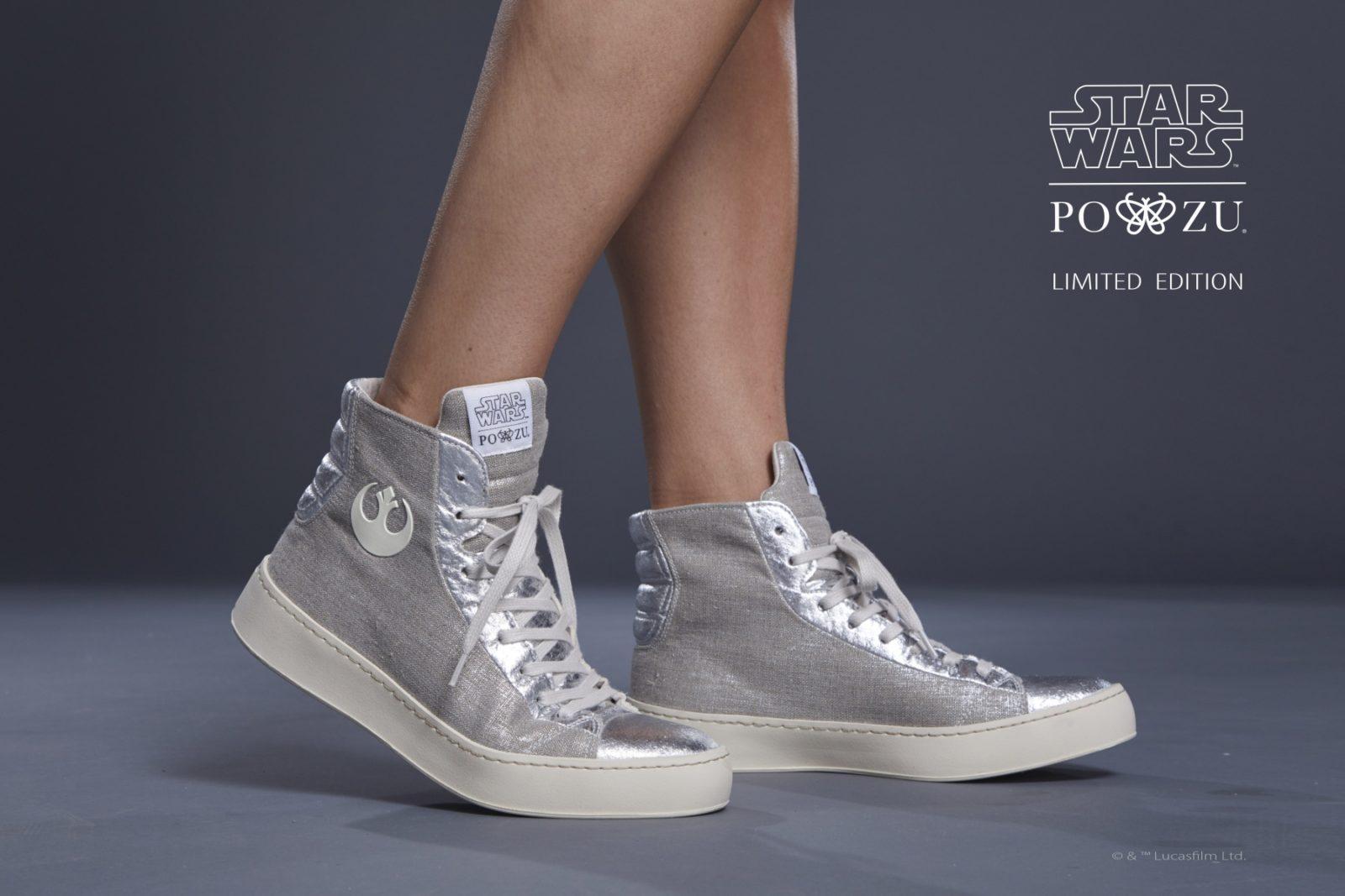 Women's Po-Zu Resistance Silver Sneakers