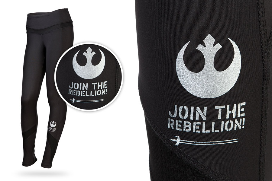 Join The Rebellion Leggings at ThinkGeek
