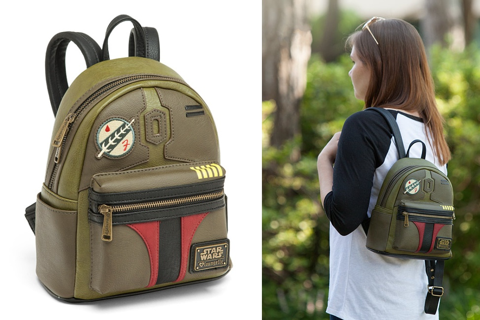 Loungefly Boba Fett Mini Backpack at ThinkGeek