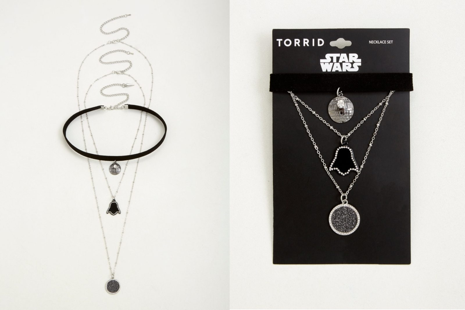 Star Wars Layered Choker Necklace Set